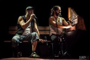 Les Croquants au festival Foix'R de Rue 2016